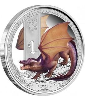 1 x Silber Drachen 2014--color