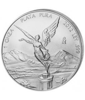 1 x 1 Oz Silber Libertad 2012