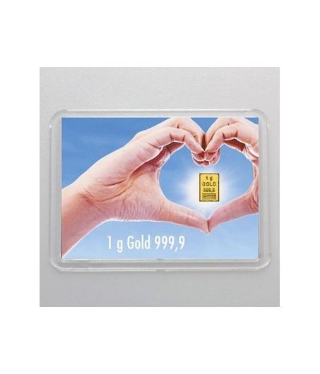 1 g Goldbarren Goldene Zukunft